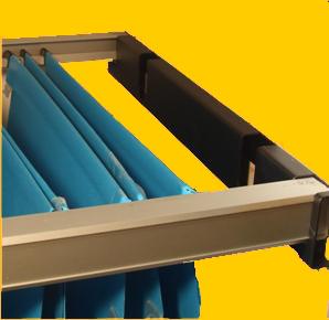 rail pour dossier suspendu kit de 2 rails pour dossiers suspendus h s rail pour dossiers. Black Bedroom Furniture Sets. Home Design Ideas
